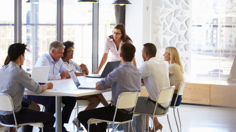 Group at Conference Table