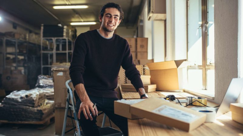 Small Business Owner at Shipping Company